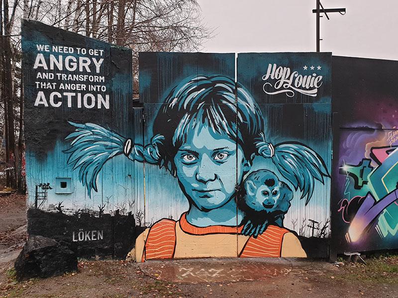 Tor-Leif: Grafitti och rock i Rågsved